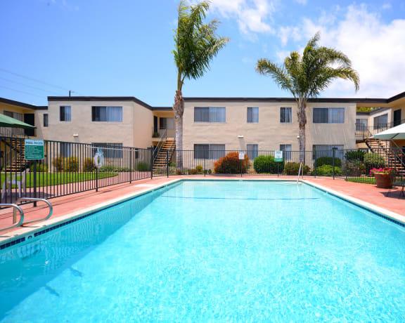 Ocean View Townhomes pool