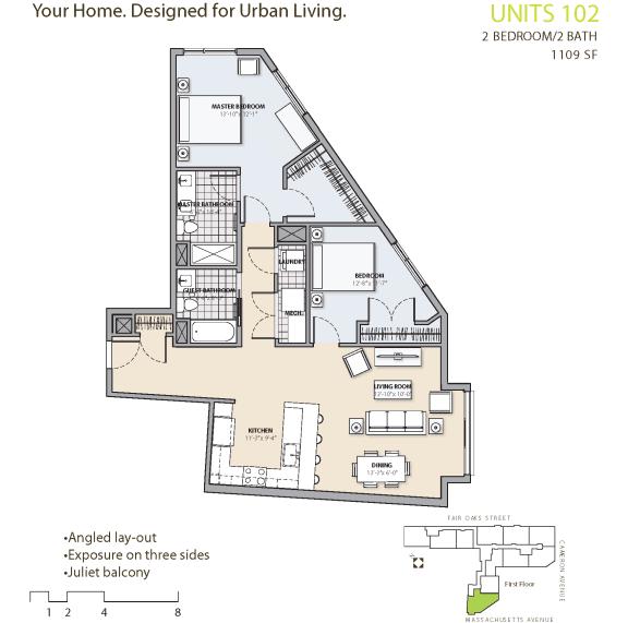 Floor Plan at 7 Cameron, Massachusetts, 02140