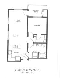 One Bedroom at StonePointe, Washington, 98466