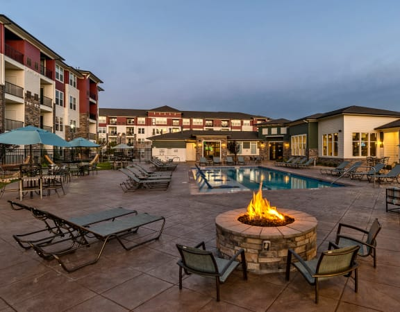 The Enclave at Cherry Creek firepit