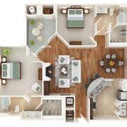 Floor Plan The Pikesville