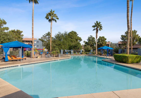 Community pool and sundeck