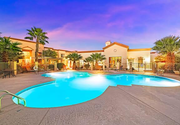 Pool at Equestrian Apartment Homes in Tucson, AZ