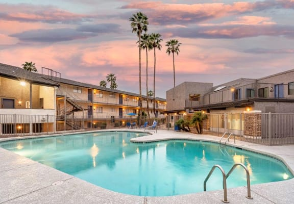 The District At Fiesta Park Apartments and Swimming Pool in Mesa, AZ