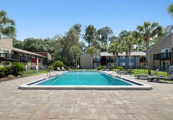 Swimming Pool at Heron Walk Apartments in Jacksonville, FL
