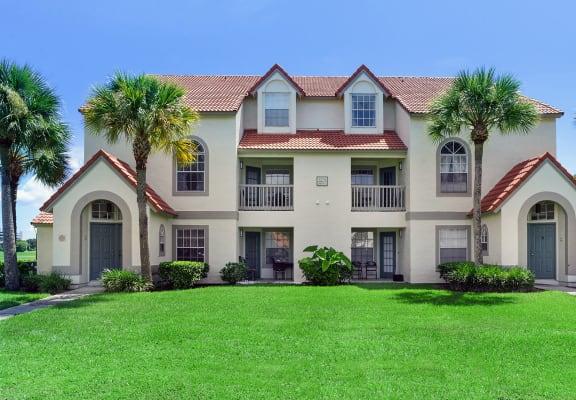 Apartment building at Lake Tivoli Apartments in Kissimmee, FL
