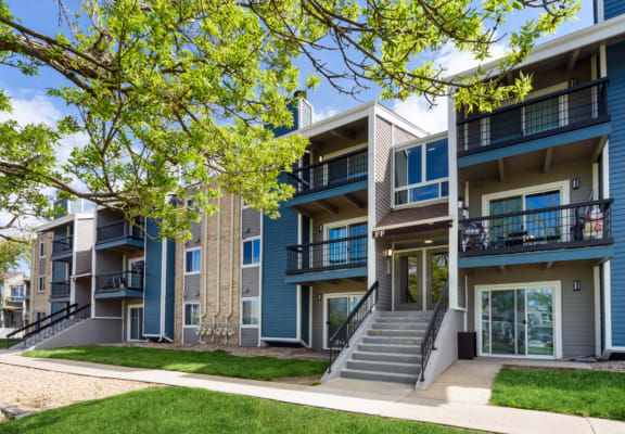 Apartments at Revive At 9 Mile Station in Denver, CO.
