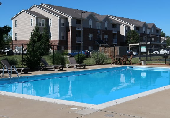 Pool Side Relaxing Area at Willow Creek, Indiana, 46368