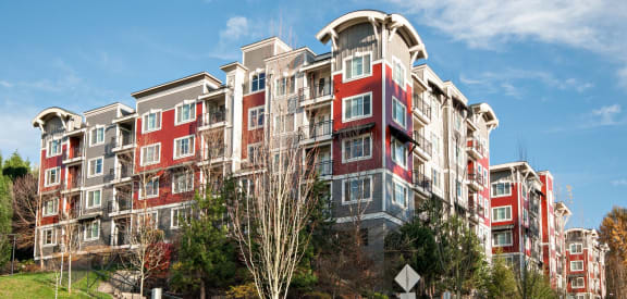 Exterior View of Apartments, Beaumont Apartment Homes, 14001 NE 183rd Street, WA