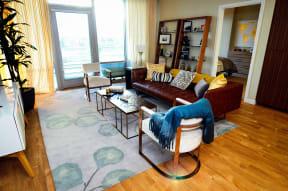 Apartments in Downtown San Jose California - Centerra Living Room