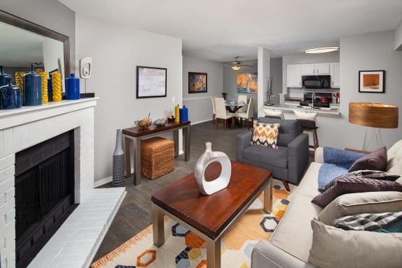 Duraleigh WoodsModel Living Room