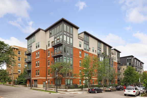 Eitel Apartments balconies
