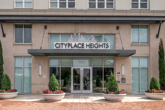 Cityplace Heights - Exterior building and main entrance