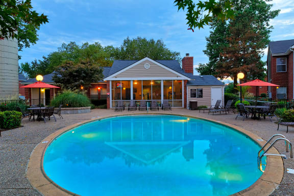 East Chase Apartments - One of two swimming pools