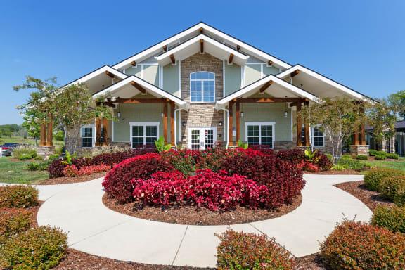 Glenbrook Apartments - Leasing Center exterior