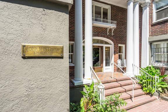 John Winthrop - Leasing Office Entrance