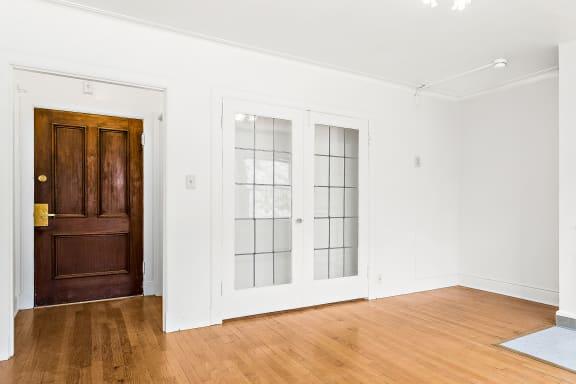 John Winthrop - Crown Molding and Period Doors