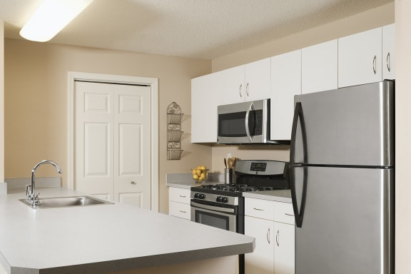 Hampshire Green Apartments - Italian-tile kitchens and baths