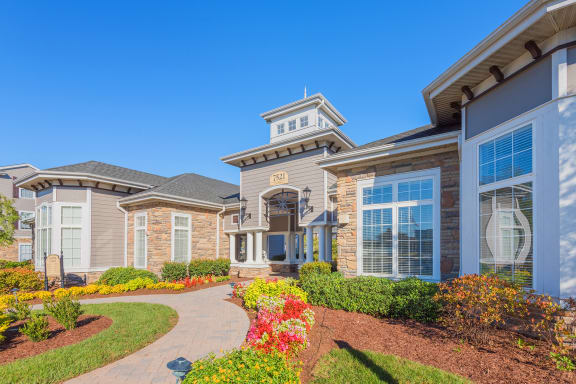 The Crossings at Alexander Place - Exterior - Leasing office entry