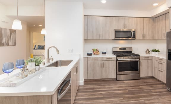 Stainless Steel Whirlpool Appliances at AURA, California, 95110