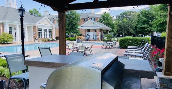 grill slider at Centerville Manor Apartments, Virginia Beach, Virginia