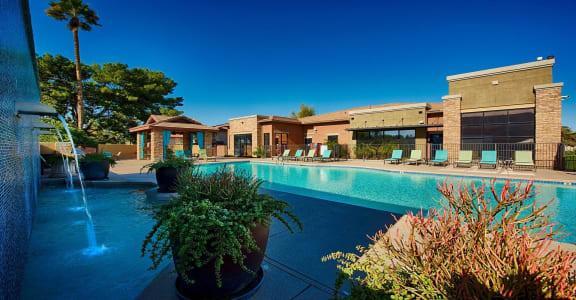 Pool Cabana & Outdoor Entertainment Barat Residences at FortyTwo25, Phoenix,Arizona