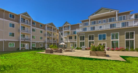 Community Buildings and Landscape Vintage at Tacoma Senior Apartments l  Tacoma, Wa 98409