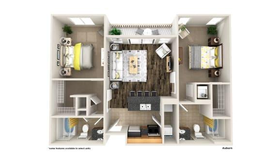 Floor Plan  Auburn