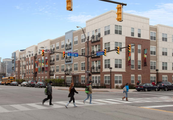 CSU off campus housing  at The Langston, Cleveland, OH, 44114