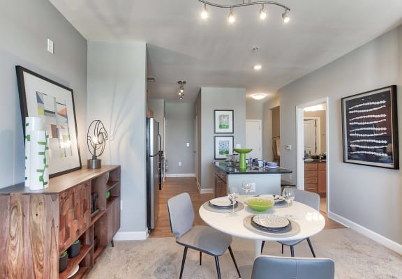 Open concept living at The Ridgewood by Windsor, Fairfax, VA