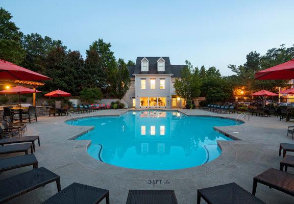 Resort style pool at Windsor Johns Creek, 11201 State Bridge Road, Johns Creek