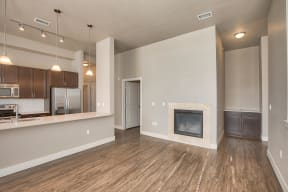 In-Home Fireplaces Available at Retreat at the Flatirons, Broomfield, Colorado