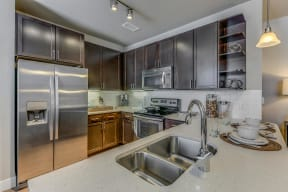 Stainless Steel Appliances at Retreat at the Flatirons, Colorado, 80020