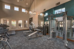 Fully-Equipped Fitness Center at Retreat at the Flatirons, 80020, CO