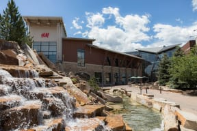 Upscale Dining and Shopping at Flatirons Crossing near Retreat at the Flatirons, Broomfield, Colorado