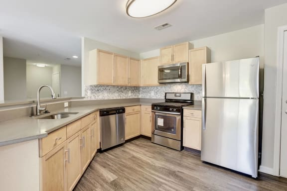 Modular Kitchen at Owings Park Apartments, Owings Mills, 21117