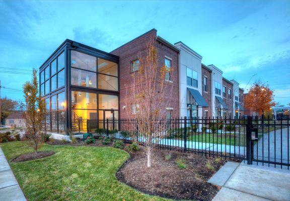 Leasing office exterior-North Sarah Apartment, St. Louis, MO