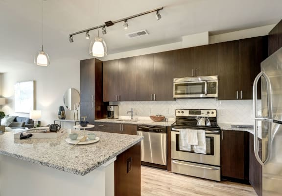 Refrigerator And Kitchen Appliances at Highgate at the Mile, McLean
