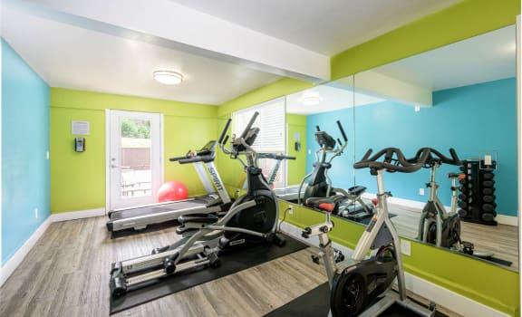 Hillside Garden Apartment Homes Fitness Center