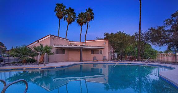Pool at Williams Gateway Apartments in Gilbert AZ