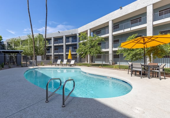 Pool at Arcadia Lofts Apartments in Phoenix AZ