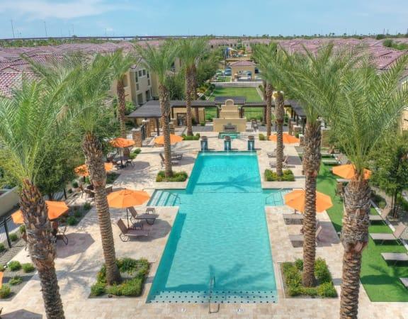 Resort Style Apartment homes at Bella Victoria Apartments in Mesa Arizona January 2021