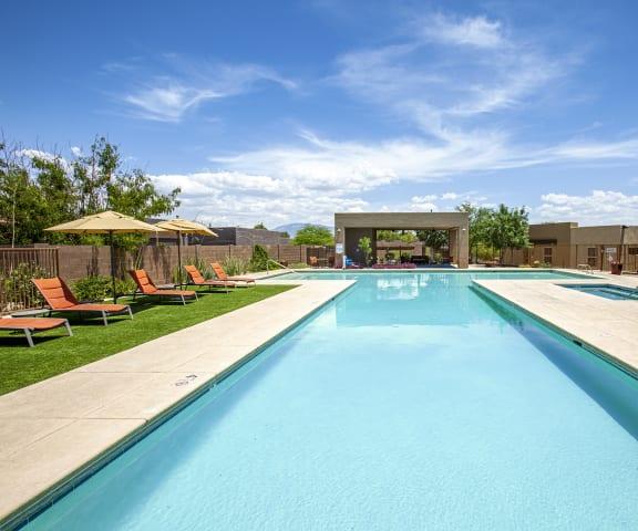 Pool at Sabino Vista Apartment Homes in Tucson Arizona 2