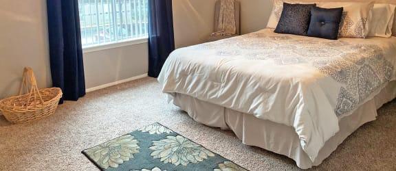 Bedroom at Wellington Estates Apartments in San Antonio TX