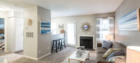 Sailboat Bay|Model Living Room