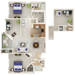 Floor Plan The Montgomery