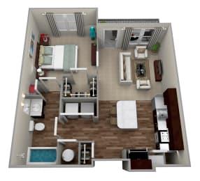 Legacy at Walton Ridge A1L Floor Plan