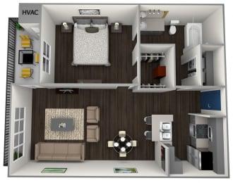 luxury one bedroom apartments in soco austin