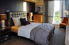 Downtown San Jose California Apartments - Centerra Bedroom