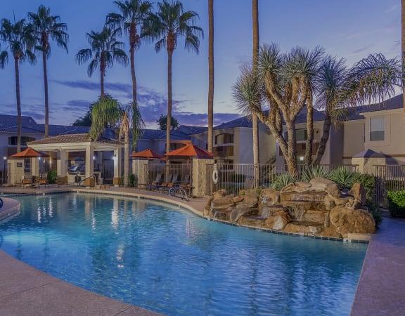 Arrowhead Landing Apartments - Resort-style pool